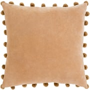 "Surya Serengeti Pillow Kit, 20""H x 20""W x 4""D, Camel (SGI001-2020D)"