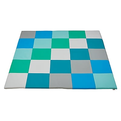ECR4Kids SoftZone® Patchwork Toddler Mat, Contemporary (ELR-031F-CT)