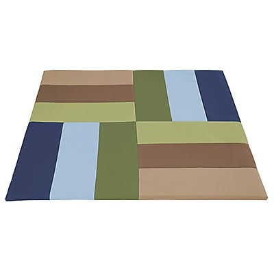 ECR4Kids SoftZone® Turning Tiles Activity Mat, Earthtone (ELR-12910-ET)
