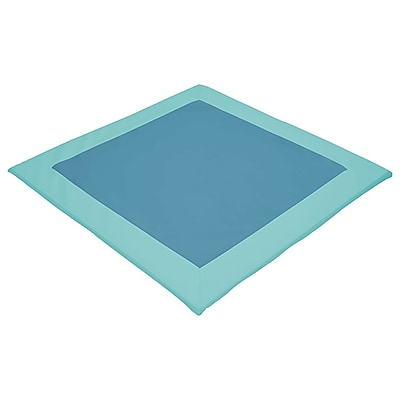 ECR4Kids SoftZone® Two-Tone Activity Mat, Sea Foam/Turquoise (ELR-12907-SFTQ)