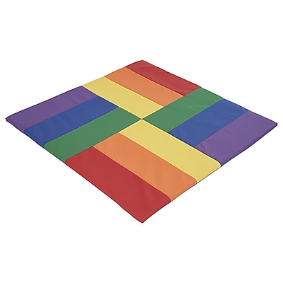 ECR4Kids SoftZone® Turning Tiles Activity Mat, Primary (ELR-12910-AS)