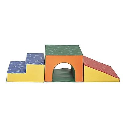 ECR4Kids SoftZone® Single Tunnel Climber, Primary (ELR-12717)