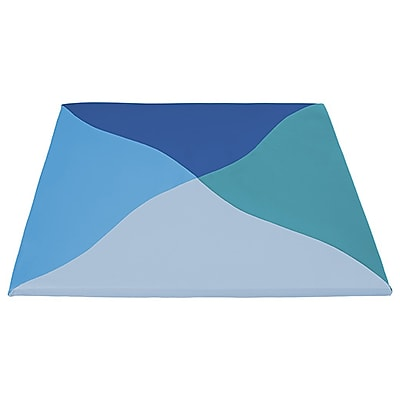 ECR4Kids SoftZone® Twisty Triangles Activity Mat, Contemporary (ELR-12906-CT)