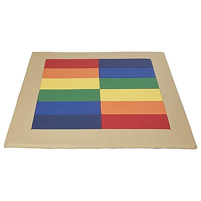 ECR4Kids SoftZone® Reflective Rainbow Mat (ELR-12909)