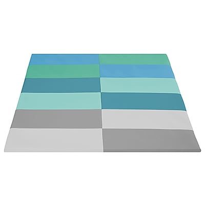 ECR4Kids SoftZone® Tile Time Activity Mat, Contemporary (ELR-12903-CT)