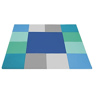 ECR4Kids SofZone® Square Dance Mat, Contemporary (ELR-12902-CT)