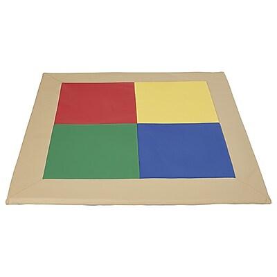 ECR4Kids SoftZone® Frame Mat, Primary (ELR-12911-AS)