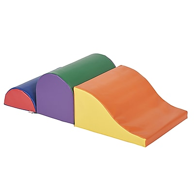 ECR4Kids SoftZone® Speed Bumps & Slide, Primary (ELR-12718)