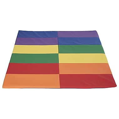 ECR4Kids SoftZone® Tile Time Activity Mat, Primary (ELR-12903-AS)