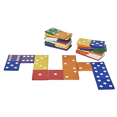 ECR4Kids SoftZone® Match N' Learn Dominoes, 28-Piece (ELR-12691)