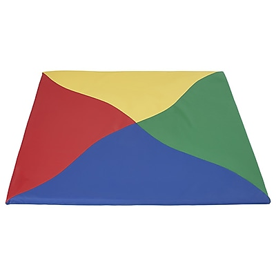 ECR4Kids SoftZone® Twisty Triangles Activity Mat, Primary (ELR-12906-AS)