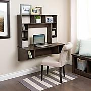 Prepac Sonoma Floating Desk, Espresso (EEHW-0800-1)