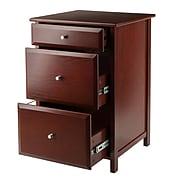 Winsome Delta File Cabinet, Walnut (94321)