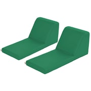 ECR4Kids SoftZone® Chaise Lounge, 2-Piece, Green (ELR-12734-GN)