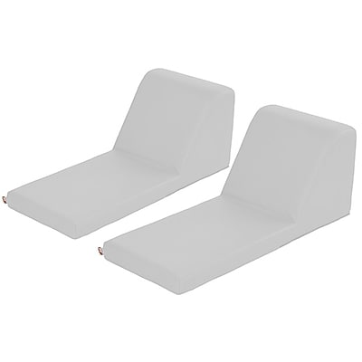 ECR4Kids SoftZone® Chaise Lounge, 2-Piece, Light Grey (ELR-12734-LG)