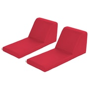 ECR4Kids SoftZone® Chaise Lounge, 2-Piece, Red (ELR-12734-RD)