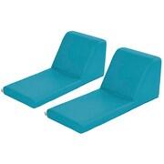 ECR4Kids SoftZone® Chaise Lounge, 2-Piece, Seafoam (ELR-12734-SF)