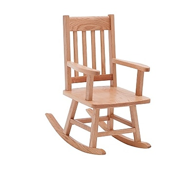 ECR4Kids Classic Oak Rocking Children's Chair (ELR-15340)