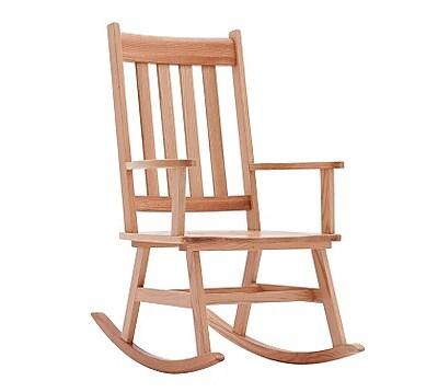 ECR4Kids Classic Oak Rocking Chair, Adult (ELR-15341)