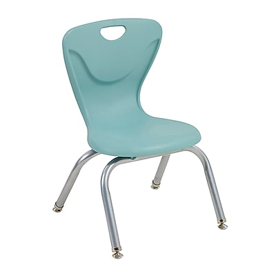"ECR4Kids 12"" Contour Chair, Sea Foam/4 Pack (ELR-25112-SF)"