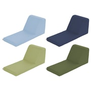 ECR4Kids SoftZone® Chaise Lounge, 4-Piece, Earthtone (ELR-12735-ET)
