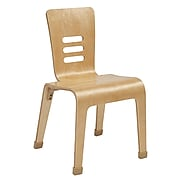 """ECR4Kids 16"""" Bentwood Chair, Natural, 2/Pack (ELR-15716-NT)"""