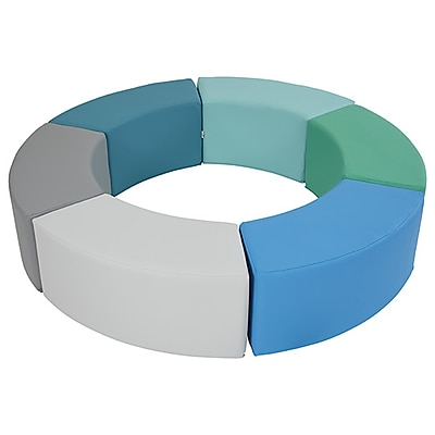 ECR4Kids SoftZone® Ring Around Seating, Contemporary (ELR-12738-CT)