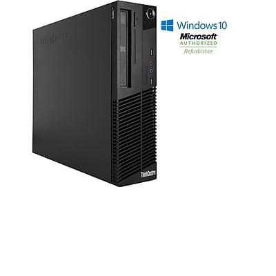 Refurbished Lenovo M81 Sff Intel Core I3 2100 3.1Ghz 4GB Ram 250GB Hard Drive DVD Windows 10 Home