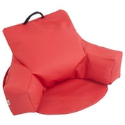 ECR4Kids SoftZone® Relax-N-Read Bean Bag Chair, Red (ELR-12801-RD)