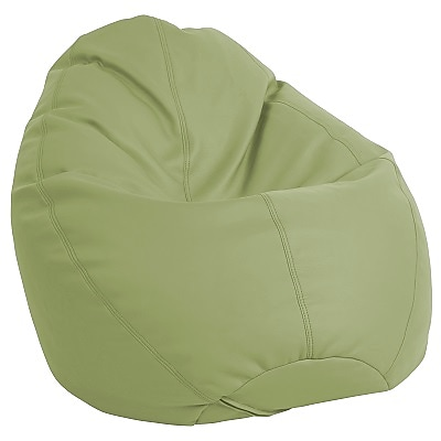 ECR4Kids SoftZone® Dew Drop Bean Bag Chair, Fern Green (ELR-12802-FG)