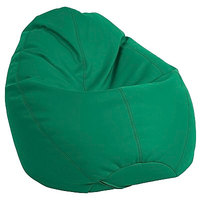ECR4Kids SoftZone® Dew Drop Bean Bag Chair, Green (ELR-12802-GN)