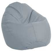 Ecr4kids Softzone Dew Drop Bean Bag Chair Grey Elr 12802 Gy