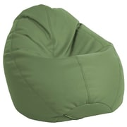 ECR4Kids SoftZone® Dew Drop Bean Bag Chair, Hunter Green (ELR-12802-HG)