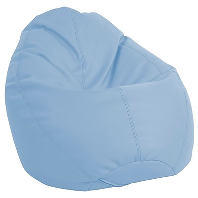 ECR4Kids SoftZone® Dew Drop Bean Bag Chair, Powder Blue (ELR-12802-PB)