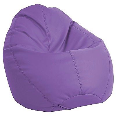 ECR4Kids SoftZone® Dew Drop Bean Bag Chair, Purple (ELR-12802-PU)
