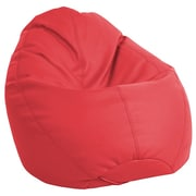ECR4Kids SoftZone® Dew Drop Bean Bag Chair, Red (ELR-12802-RD)