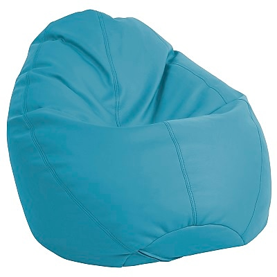 ECR4Kids SoftZone® Dew Drop Bean Bag Chair, Seafoam (ELR-12802-SF)