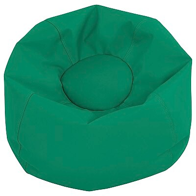 "ECR4Kids SoftZone® 26"" Junior Classic Bean Bag, Green (ELR-12826-GN)"