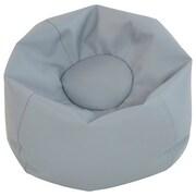 "ECR4Kids SoftZone® 26"" Junior Classic Bean Bag, Grey (ELR-12826-GY)"