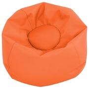 """ECR4Kids SoftZone® 26"""" Junior Classic Bean Bag, Orange (ELR-12826-OR)"""