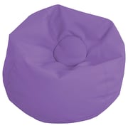 "ECR4Kids SoftZone® 35"" Standard Classic Bean Bag, Purple (ELR-12835-PU)"