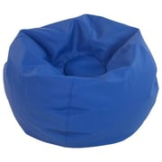 "ECR4Kids SoftZone® 35"" Standard Classic Bean Bag, Blue (ELR-12835-BL)"