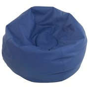 "ECR4Kids SoftZone® 35"" Standard Classic Bean Bag, Navy (ELR-12835-NV)"