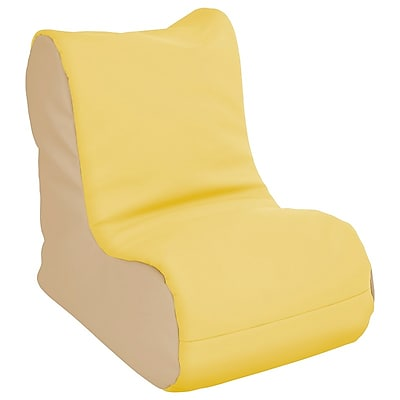 ECR4Kids SoftZone® Toddler Bean Bag Soft Seat, Yellow Sand (ELR-15660-YESD)