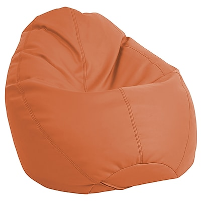 ECR4Kids SoftZone® Dew Drop Bean Bag Chair, Orange (ELR-12802-OR)