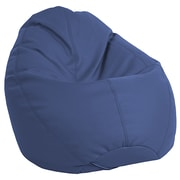 ECR4Kids SoftZone® Dew Drop Bean Bag Chair, Navy (ELR-12802-NV)
