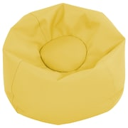 "ECR4Kids SoftZone® 26"" Junior Classic Bean Bag, Yellow (ELR-12826-YE)"