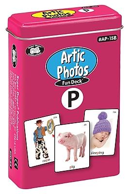 Super Duper Publications Articulation Photos Fun Deck, P Sound, New Color Photos, Tin (AP15B)