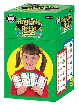Super Duper Publications Card Game, Anytime Articulation,