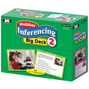 Super Duper Publications Flash Cards, Inferencing Big Deck, Set 2, Box (BIG456)